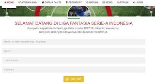 Registrasi LF Fantasi Manager Indonesia