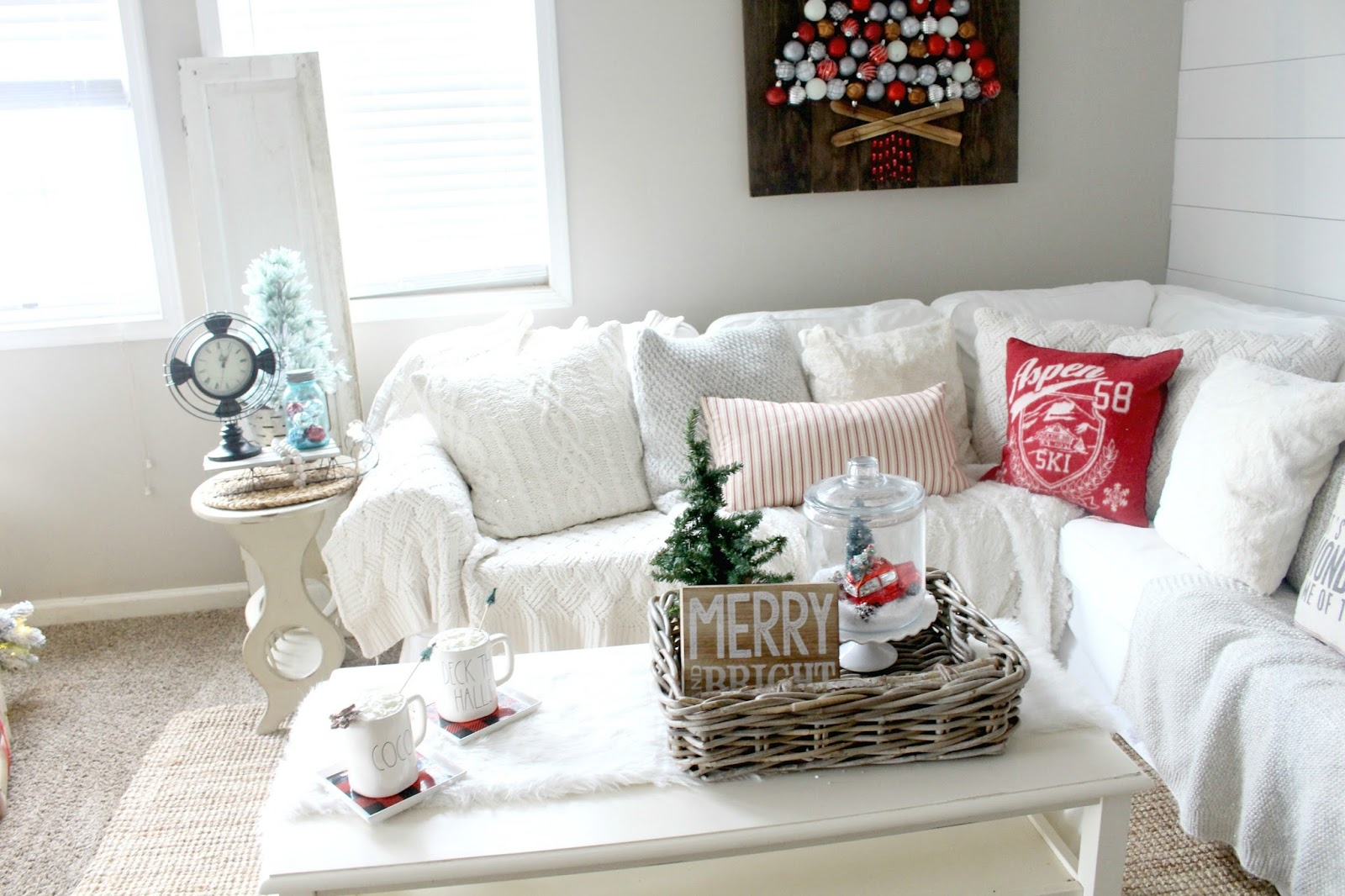 How To Decorate with Target Dollar Spot Decor - The Glam Farmhouse
