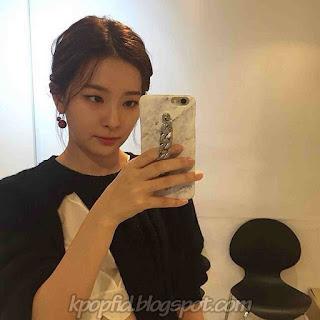 Foto Selca Seulgi Red Velvet - Kang Seul Gi Foto Selfie