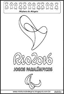 Logomarca dos jogos paralímpicos 2016