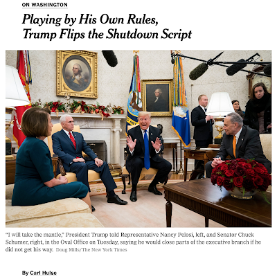 This might be the most positive presentation of Trump I ve ever seen in the New York Times.