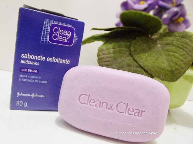 Sabonete Esfoliante Anticravos Clean Clear