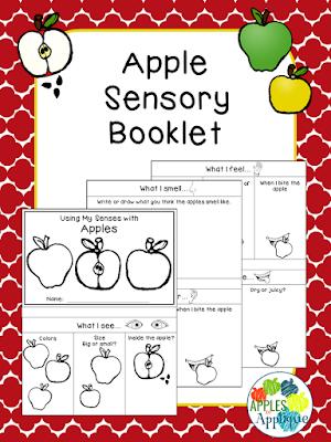 Apple Sensory Booklet | Apples to Applique