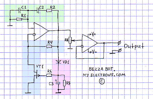 Budget Wien bridge oscillator with low THD | MyElectrons