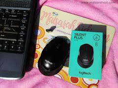 Selesa Bekerja dengan Logitech M330 Silent Plus Wireless Mouse