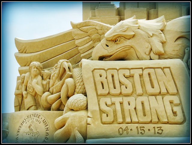 Revere Beach National Sand Sculpting Festival: Boston Strong