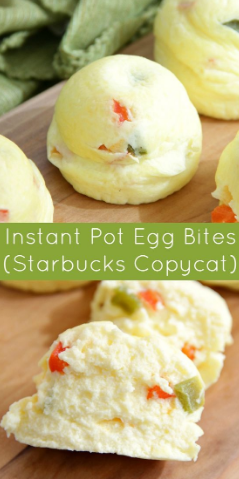 Instant Pol Egg Biles ( Starbucks Copycat)