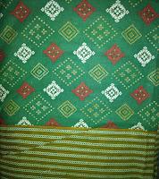Kain Batik Prima Songket Hijau [0049]