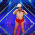 90 year old does strip tease on stage Earns Gold Buzzer!