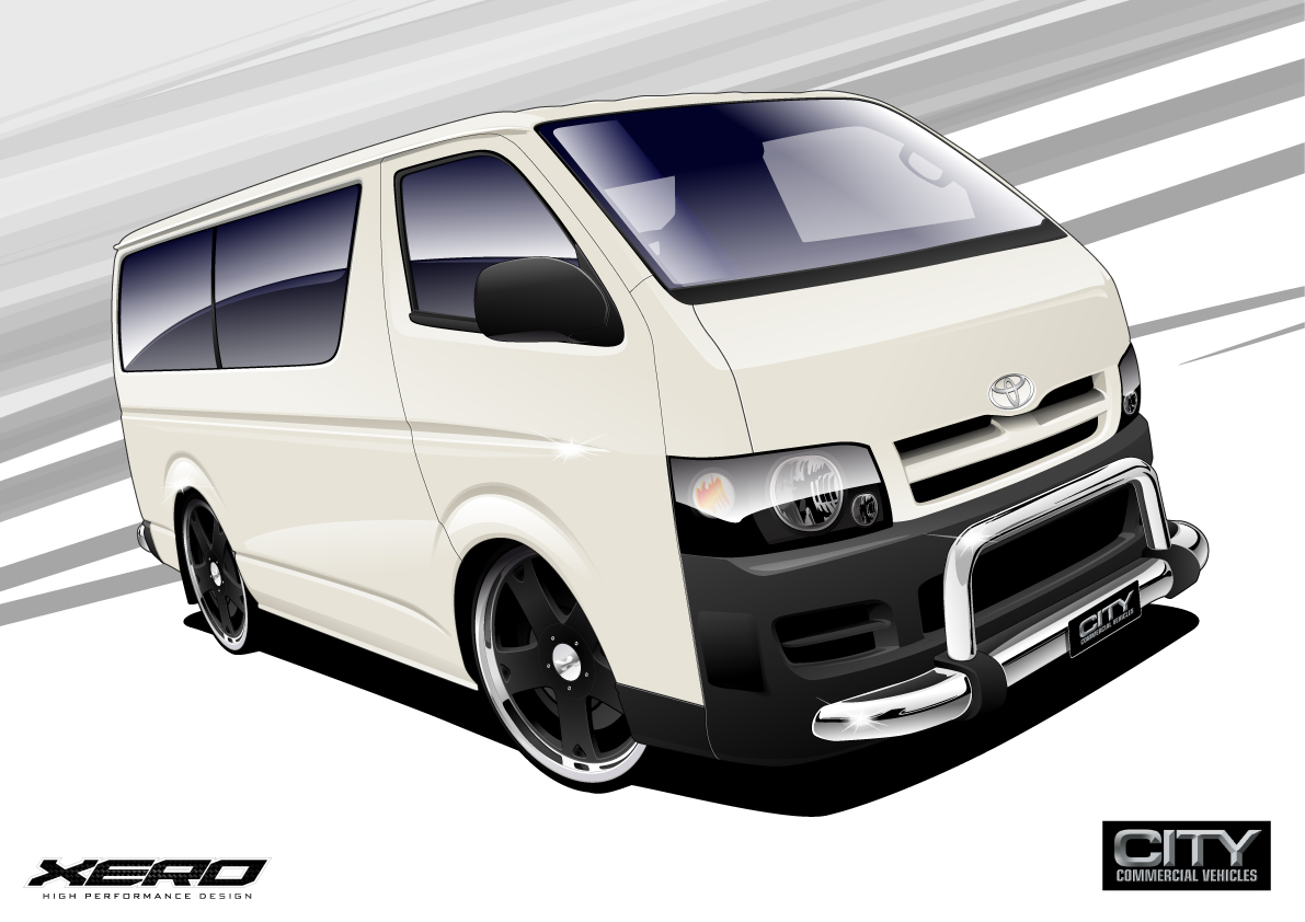 Car Images: Toyota Hiace