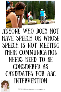 Who should use AAC