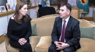 Bertellys recibe a Vidal y podría formalizarse su pase al oficialismo