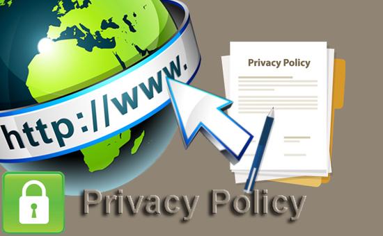 Privacy Policy yaitu pernyataan atas jaminan keamanan privasi user yang memakai suatu Contoh Teks Privacy Policy