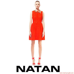 Queen Maxima Style NATAN Dress and NATAN Slingback Pumps