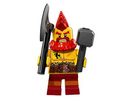 LEGO 71018-10 - Krasnolud bojowy