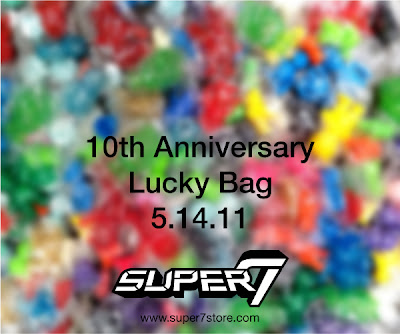 Super7 10th Anniversary 2011 Lucky Bag Teaser Image