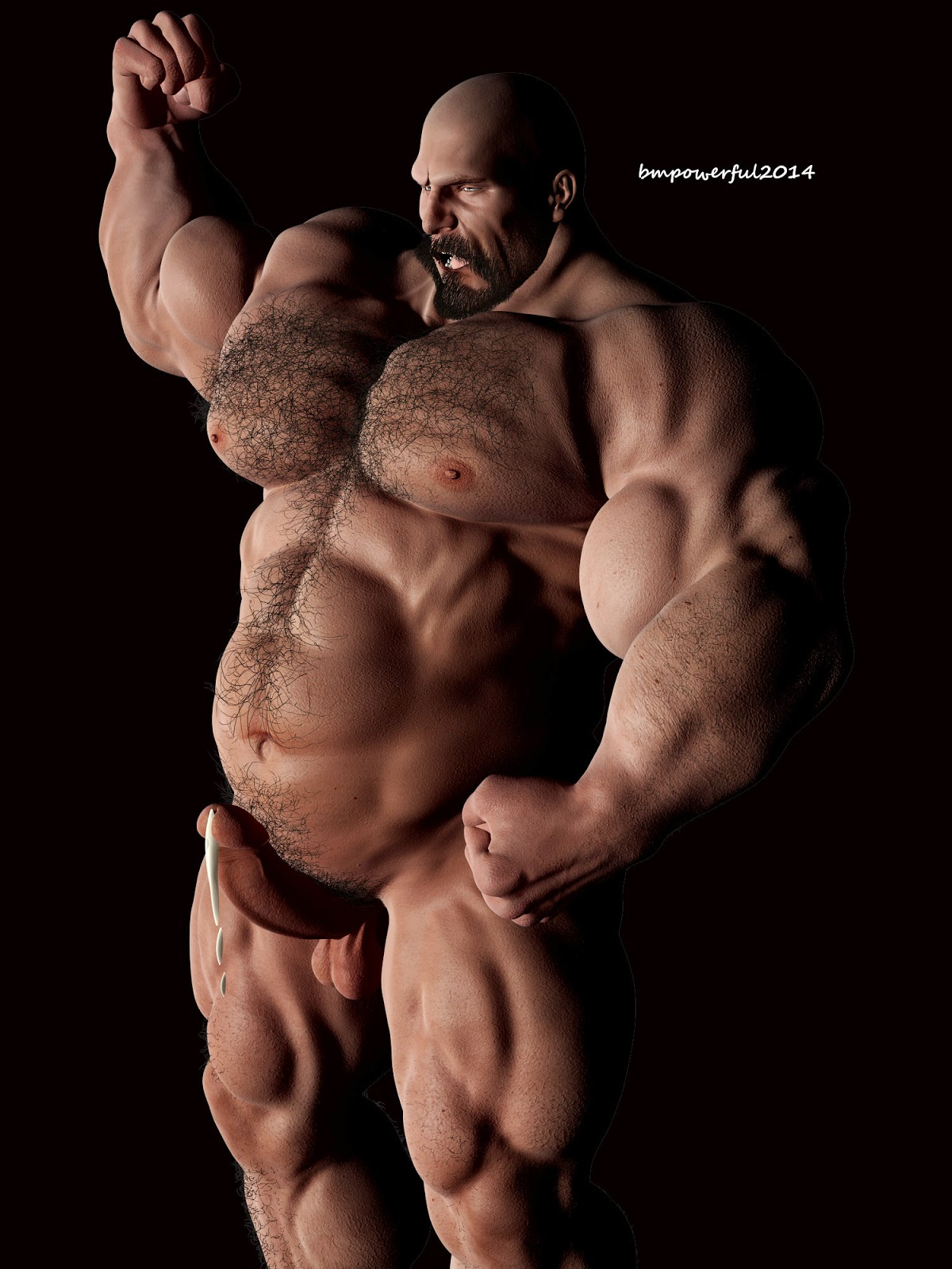 gay muscle erotic