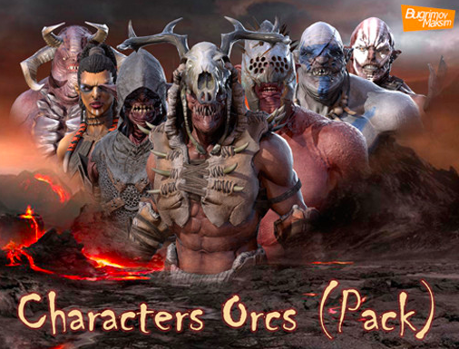 PBR Characters Orcs (Pack) | Unity 3D Free Asset Download