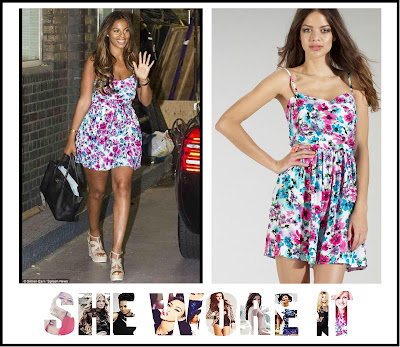 Rochelle Humes, Lipsy, This Morning, Floral Dress