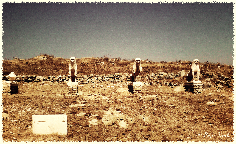 The World Through My Eyes!: The Sacred Island of Delos III