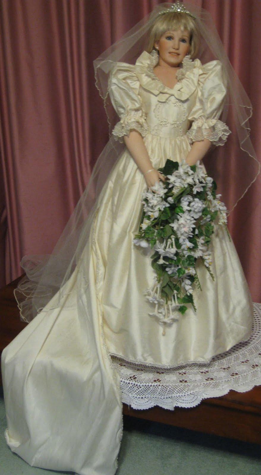 Vicki S Fabric Creations Princess Diana Doll