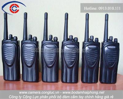 Bộ đàm cầm tay kenwood, Cộng Lực cung cấp tại thị trường Nam Định.
