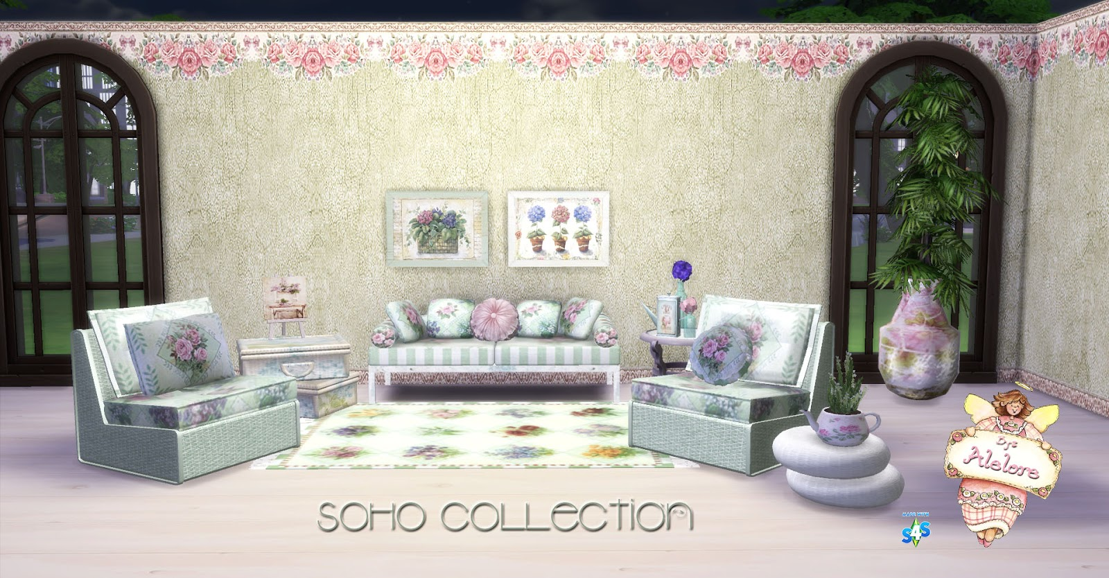 Alelore Sims Blog: SOHO COLLECTION