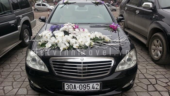 Địa chỉ cho thuê xe cưới Mercedes Uy tín 2