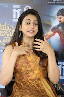 Rakul Preet Singh smiling Beautyin Brown Deep neck Sleeveless Gown at her interview 2.8.17 ~  Exclusive Celebrities Galleries 041.JPG
