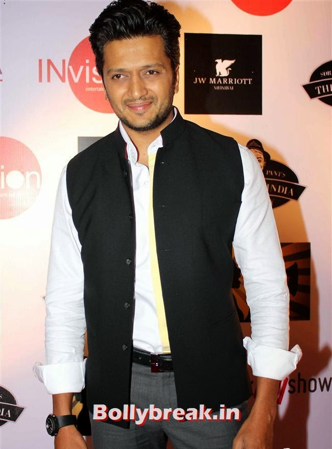 Ritesh Deshmukh, Shruti Seth, Maria Goretti at 4th Annual Ghanta Awards