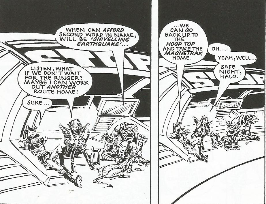 Thoughts Of A Workshy Fop: The Ballad Of Halo Jones: Book 1 (2000AD