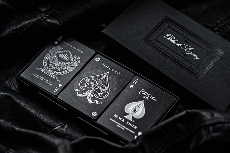 BLACK LEGACY COLLECTION BY ELLUSIONIST
