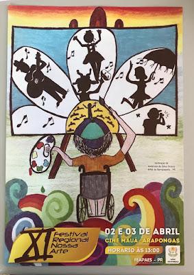 APAE de Borrrazópolis participará do Festival Nossa Arte em Arapongas