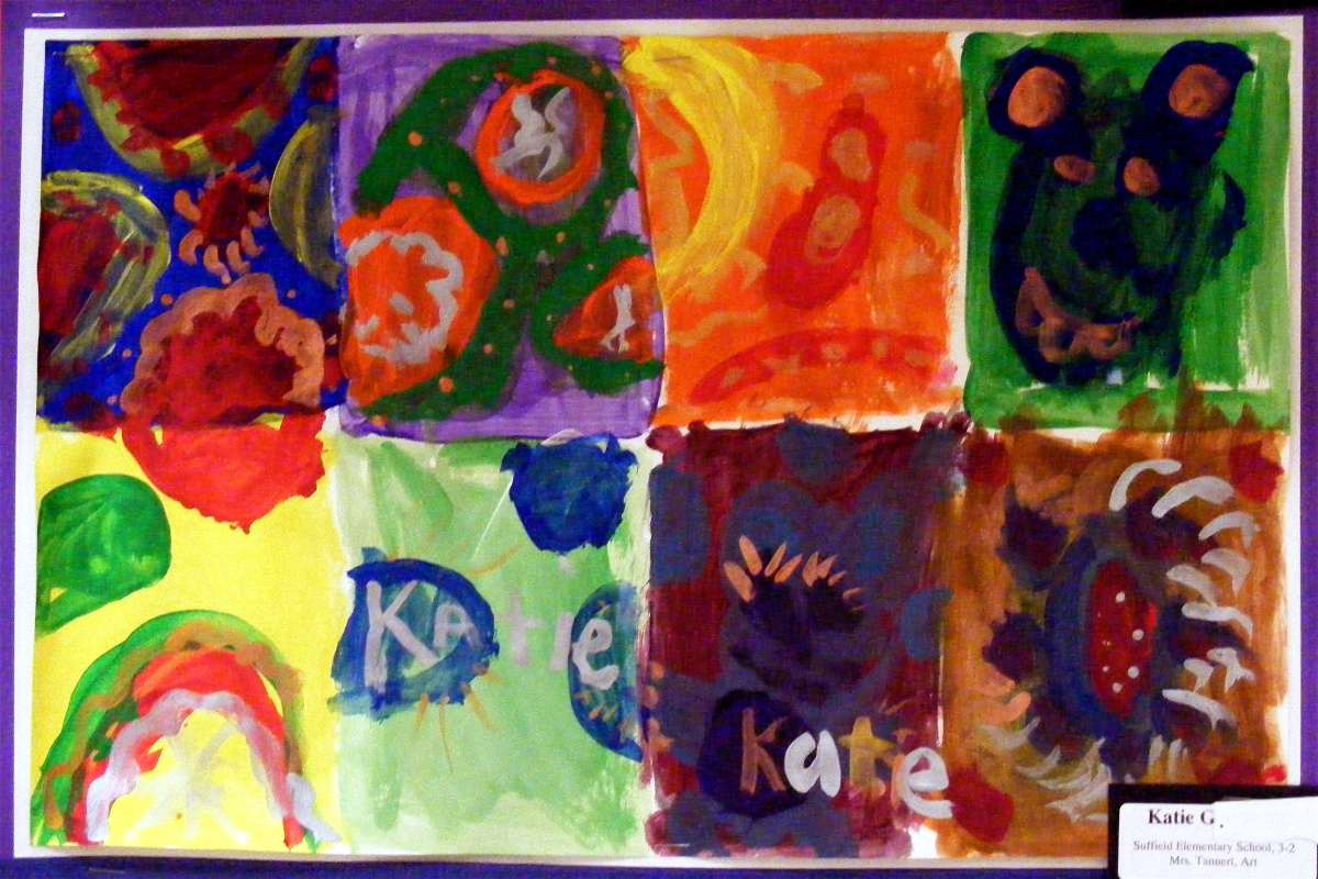 Suffield Elementary Art Blog Third Grade Color Theory With Kandinsky