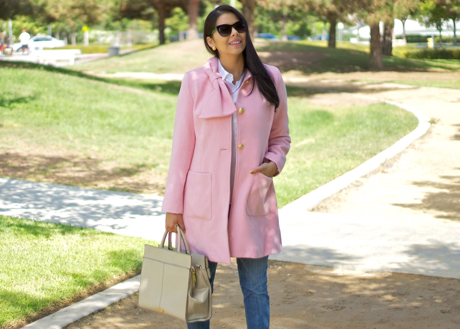 Pink coat for Fall 2014, socal fashion blogger, brunette fashion blogger, latina blogger, mexican blogger, mexican fashion blogger, latina fashion blogger, san diego street style, best of san diego street style, best of san diego fashion, best san diego bloggers