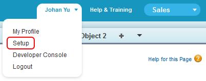 SimplySfdc com: Salesforce: New Setup Menu