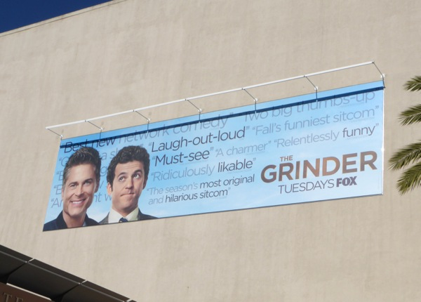 The Grinder season 1 reviews billboard