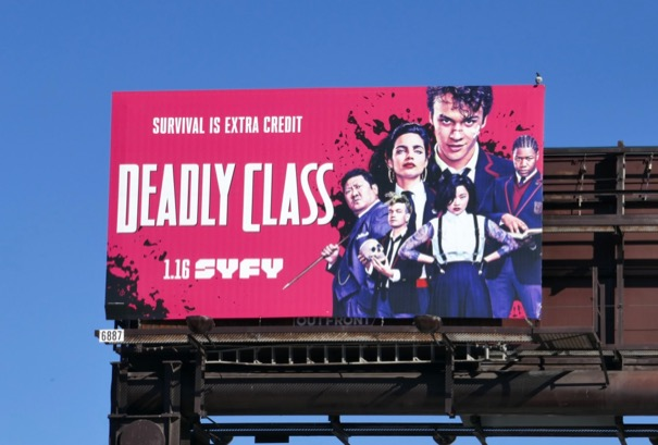Deadly Class season 1 billboard