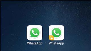Informasi Teknologi cara menjalankan 2 (dua) akun whatsapp pada 1 (satu) handphone Canggih