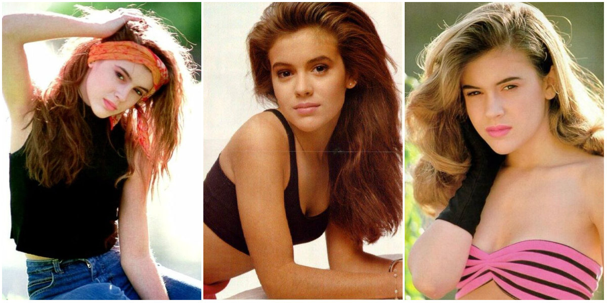 30 Fascinating Photos Of A Young And Beautiful Alyssa Milano
