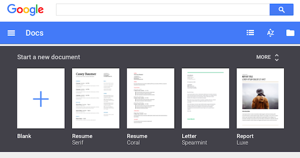 Templates Insights and Dictation in Google Docs