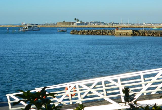 Forte de São Marcelo visto da Bahia Marina