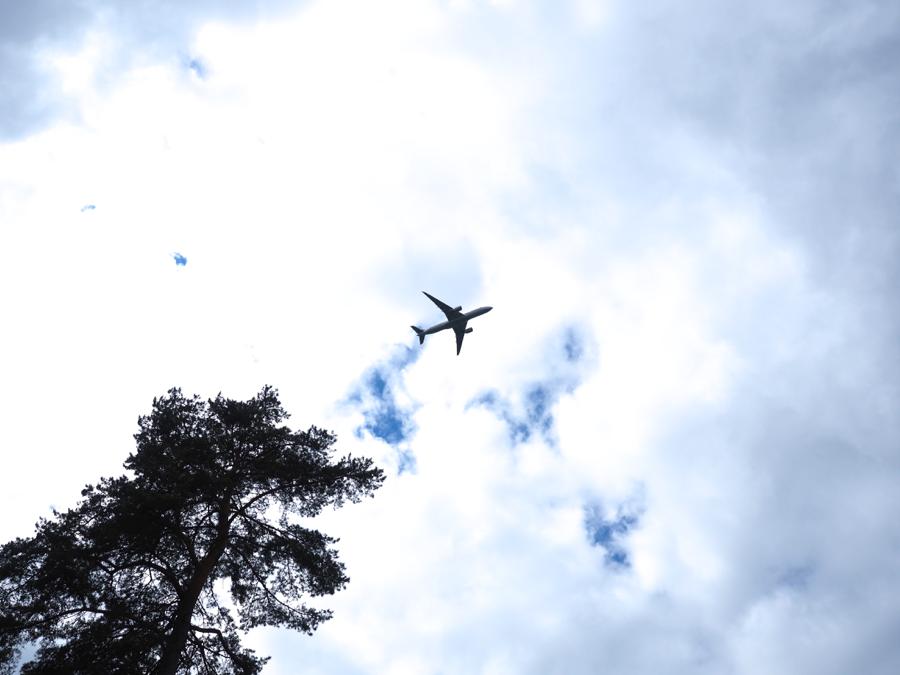 lentokoneiden bongailua