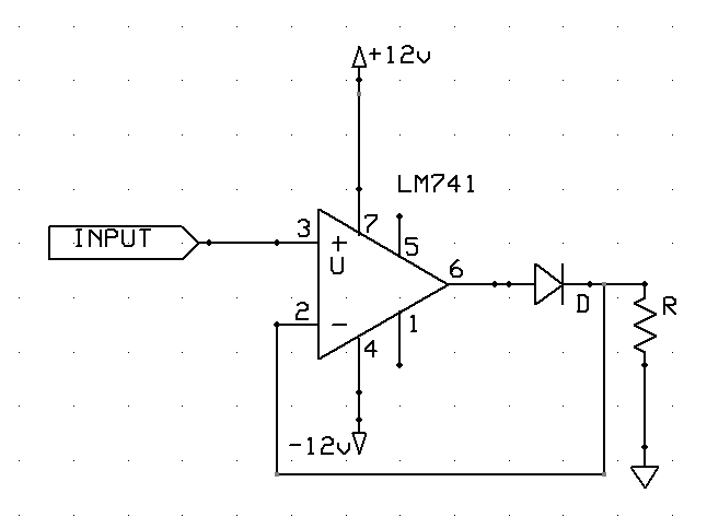 Precision Half Wave Rectifiers | electronics on