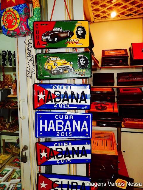 Placas de carros antigos cubanos
