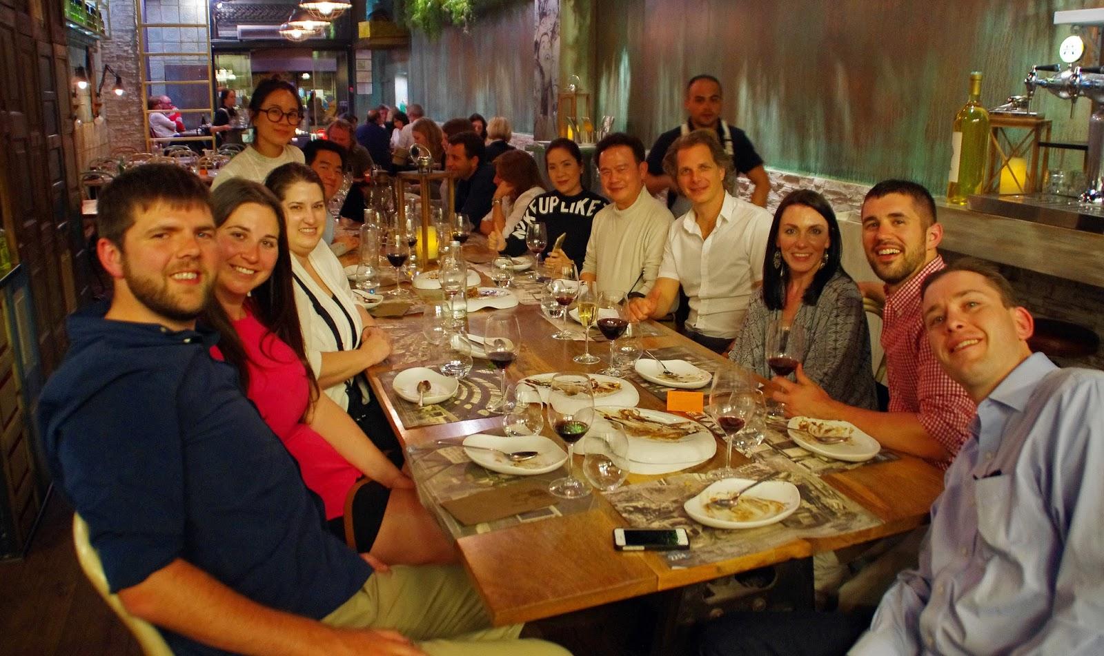 Group on Food Lover Tour Barcelona