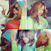 Toyin Lawani has a message for Single independent Ladies...Hehe!