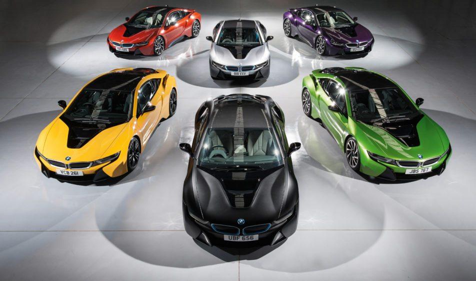 BMW i8 sẽ đẹp hơn với nhiều màu sắc mới