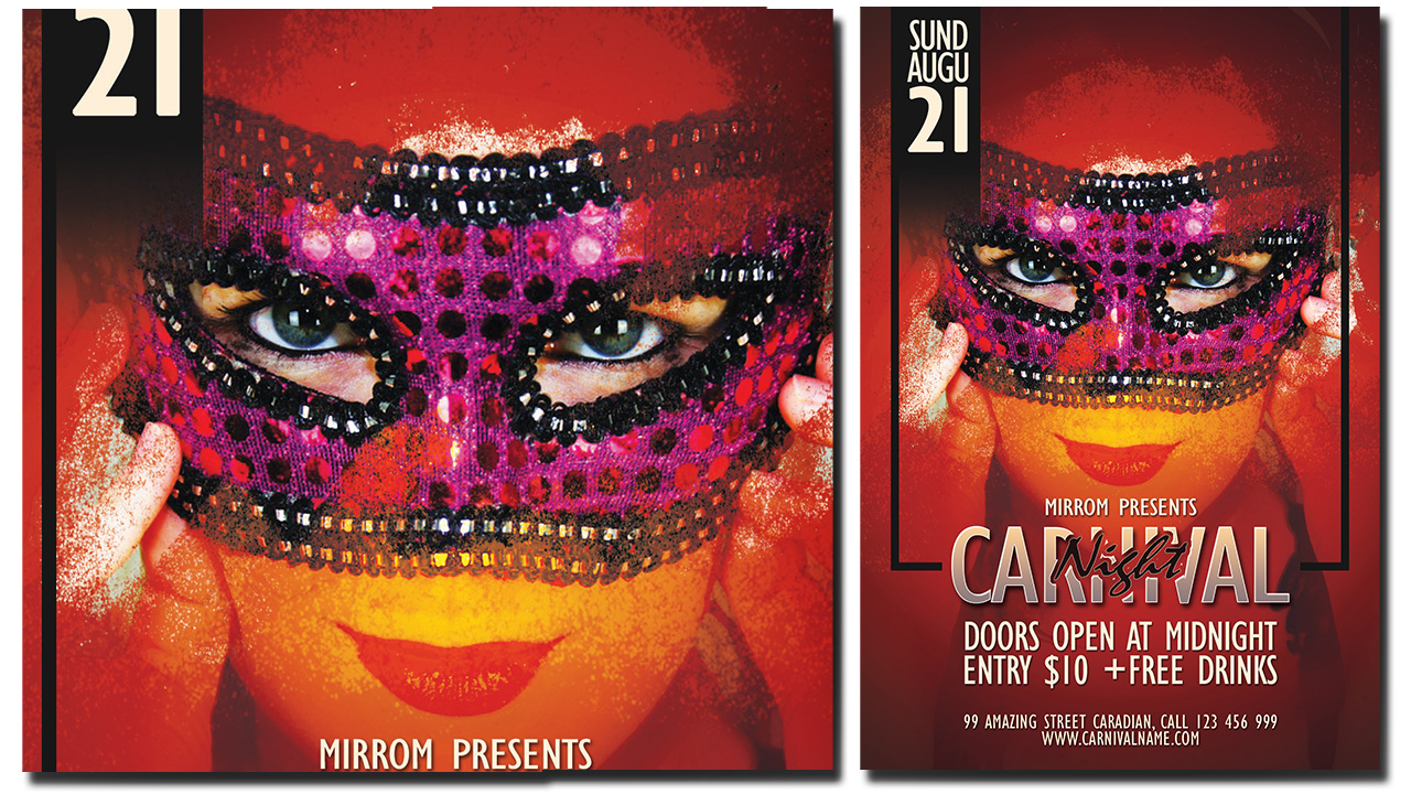 Create a Carnival Night Flyer In Photoshop