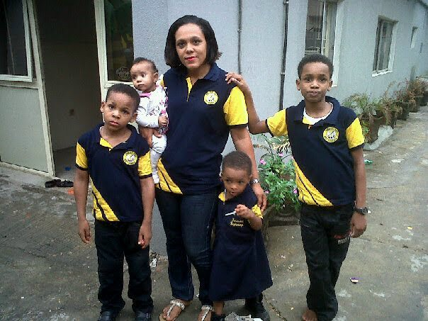 emeka  ike's wife abandoned children